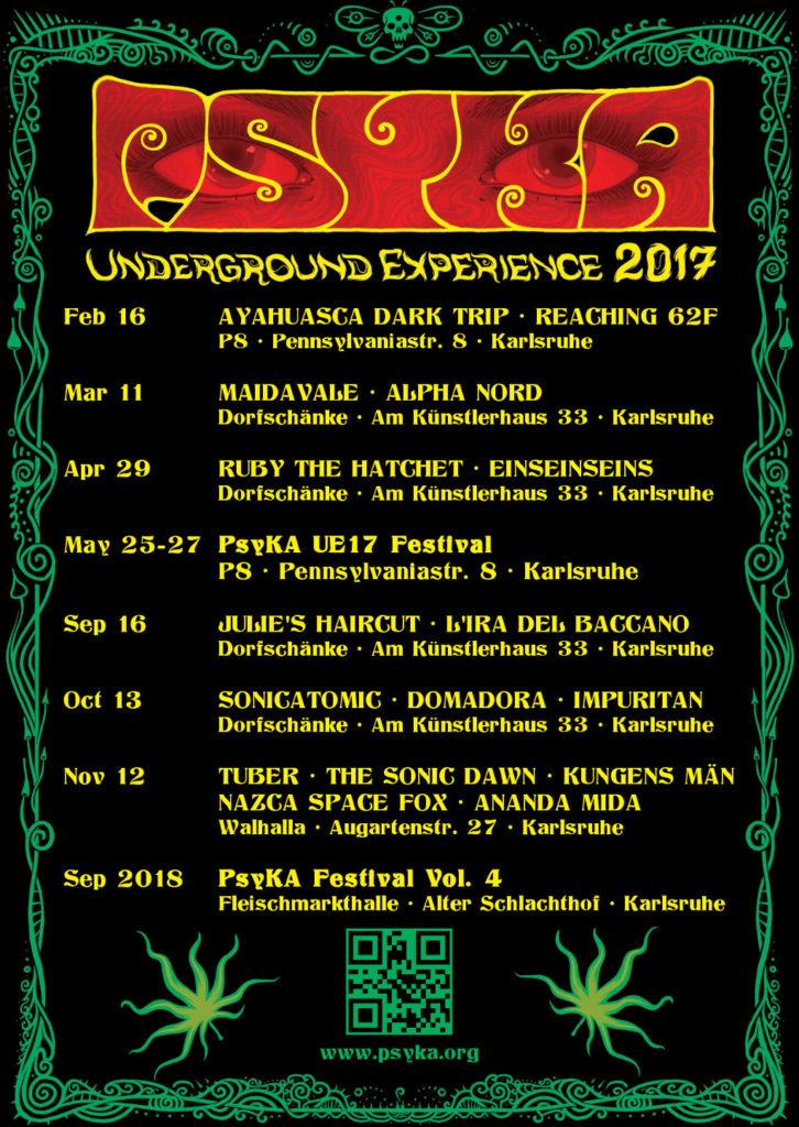 PsyKA Underground Experience 2017 – PsyKA Festival